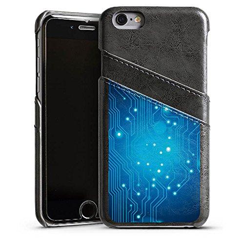Apple iPhone 4 Housse Étui Silicone Coque Protection Platine Numérique Électro Étui en cuir gris