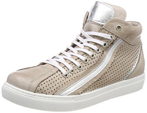 Andrea Argento Conti Alta Grigio 0344505 Ladies Sneaker argento rw7n4OrZxz