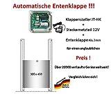 JOSTechnik Automatische Entenklappe JT-HK mit Klappe BZW. Schieber - Direkt vom Hersteller!
