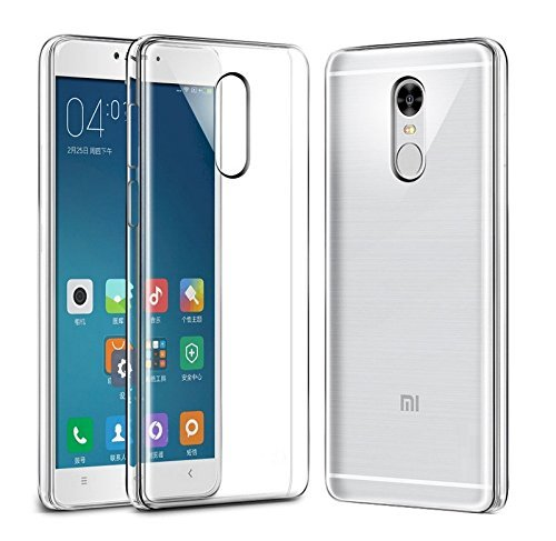 M.G.R.J Xiaomi Redmi Note 4 - Ultra Thin 0.3mm Clear Transparent Flexible Soft TPU Slim Back Case Cover  available at amazon for Rs.129