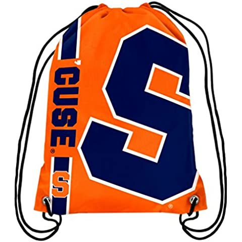 Syracuse Orangemen Official NCAA One Size Backpack Backsack by Forever Collectibles 984797 by Forever