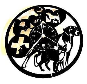 clinicas veterinarias animal: Instant Karma Reloj de Vinilo de Pared Idea Regalo Vintage Handmade Animales méd...