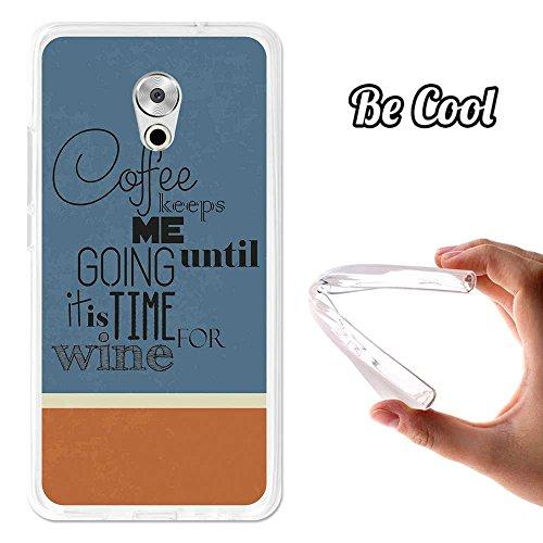 Capa de TPU Gel Meolu Pro XUUMX Plus, TPU Capa feita com o melhor silicone, protege e adapta-se perfeitamente ao seu Smartphone e, além disso, tem o nosso design exclusivo. Café e depois vinho