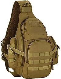 matoger táctico paquete bolsa de nylon para hombro, caza Militar mochila bolsa de pecho,