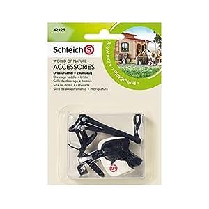 Schleich - 42125 - Selle de Dressage + Harnais -