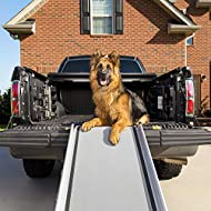 PetSafe Solvit Telescopic Pet Ramp, Extra Large, 119 cm - 220 cm, Large Dogs, Durable