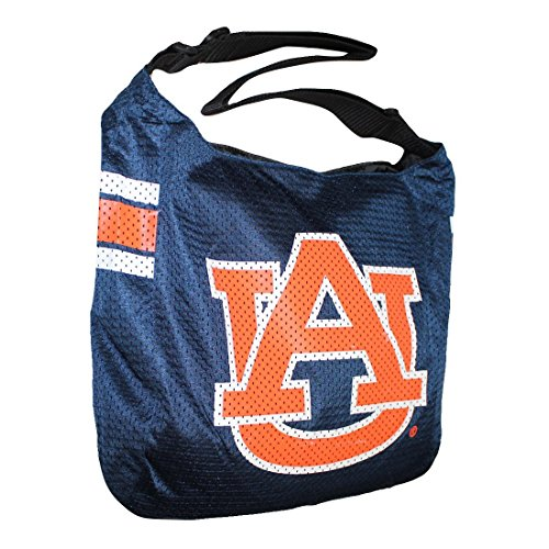 COLLECTOR'S ITEM: NCAA Auburn Tigers Jersey Large Tote / Shoulder Bag - dunkel blau
