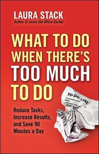 What To Do When There's Too Much To Do: Reduce Tasks, Increase Results, and Save 90 Minutes a Day (Agency/Distributed)