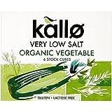 Kallo Organique Très Faible Légumes De Sel Cubes De Bouillon (6X10G)