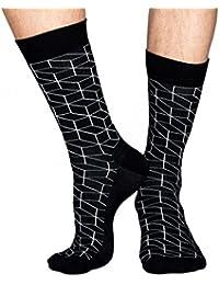 Happy Socks Optic Men's Calf Socks Size 41-46 HS5300