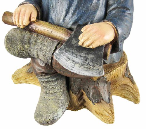 Go Away Garden Gnome un-welcome Garten Statue - 6