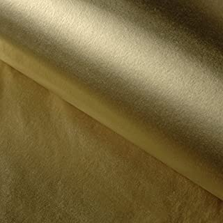 Gold Tissue Paper, 35cm x 50cm, Gold ink MF acid free tissue paper - 200 sheets, Reams of Luxury Metallic Gold Tissue Paper