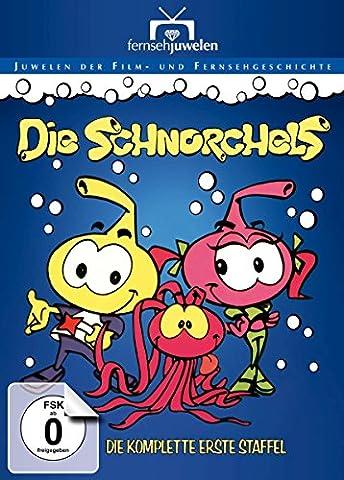 Die Schnorchels - Die komplette erste Staffel (Fernsehjuwelen) [2 DVDs] (Schlümpfe Serie)