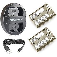 Newmowa BP-511Batería de Repuesto (2-Pack) y Kit de Cargador Doble