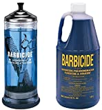 Barbicide disinfectant Jar, Solution 1.89L For Salon Spas Medical Athletic Tools CODE: BRE 7