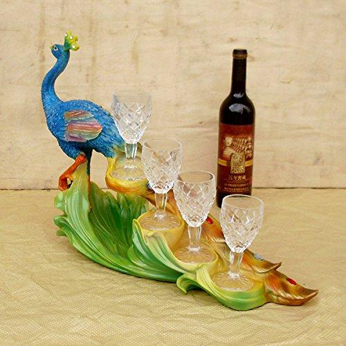el-vino-de-resina-adornos-de-pavo-real-hermosa-bastidores-clubes-de-hoteles-de-lujo-vidrios-del-sude