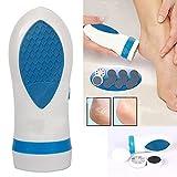 ZREAL Kit électrique pour callosités Callus Remover Soins des pieds Pedi Spin Electric élimine les callosités Masseur Pédicure Dead Dry Skin