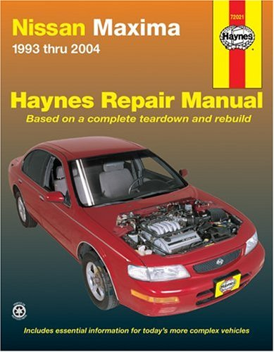 nissan-maxima-automotive-repair-manual-1993-thru-2004-haynes-automotive-repair-manual