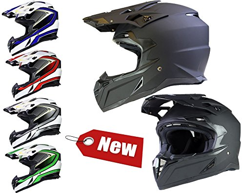 CASQUE de Motocross Enduro Quad ATV