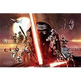 Star Wars: Episode 7 Poster Galaxy Collage (91,5cm x 61cm)