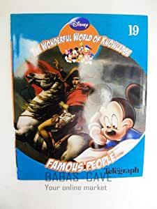Disney the Wonderful World of Knowledge :- Famous People