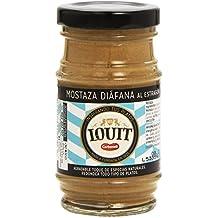 Louit - Mostaza Diáfana estragón, 115 gr - [pack de 4]