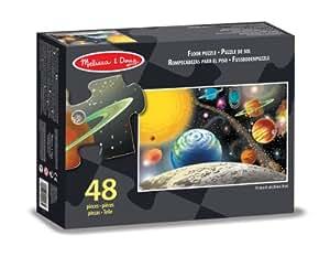 Melissa & Doug - 10413 - Puzzle - Puzzle de sol système solaire