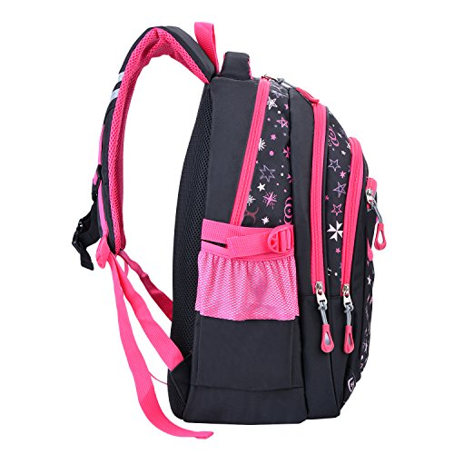 bcf54ceb37c7c1 Cartable Fille, Coofit Design d origine Sac a Dos Fille Primaire en Nylon  ...
