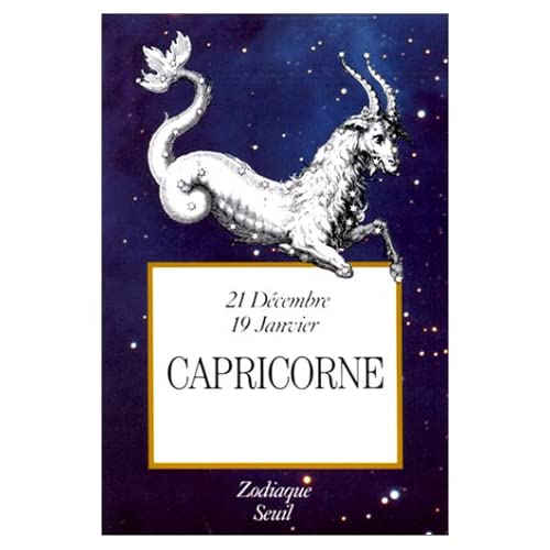 Zodiaque : Capricorne