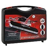 Mobile 12V & 24V Starthilfe 21000mAh 850A Starthilfegerät mit Starthilfekabel für Autobatterie PKW LKW NKW Motorrad Boot Batterie