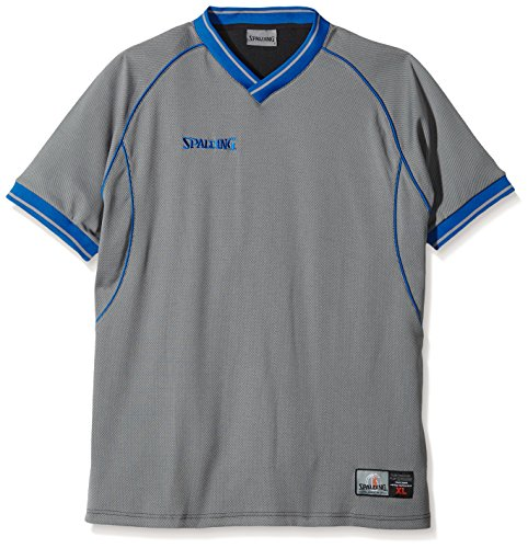 Spalding Herren Bekleidung Teamsport Schiedsrichter Shirt Grau, XL