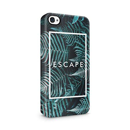 Chill Paradise Beach Life Sun Hawaii Good Vibes Only Custodia Posteriore Sottile In Plastica Rigida Cover Per iPhone 5C Slim Fit Hard Case Cover Escape