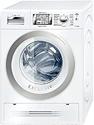 Bosch wvh30590autonome Belastung Bevor A weiß Waschmaschine mit Wäschetrockner–Waschmaschinen mit Wäsche (Belastung vor, autonome, weiß, links, drehbar, Berühren, LCD)