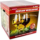 Starter Set Starterkit para vino selbermachen Vino Fabricación gärbehä lter 25L Vino Set zw25