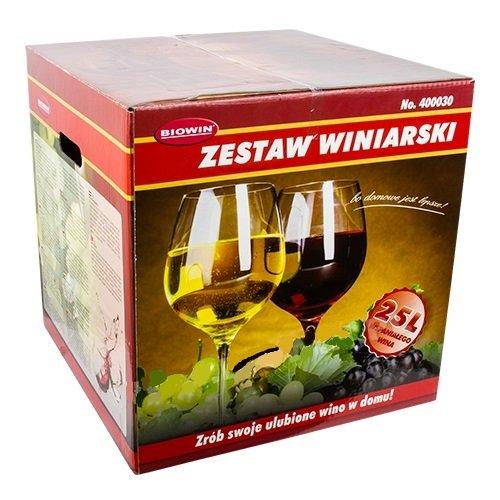 ZW25 Kit de démarrage pour la fabrication du vin Cuve de fermentation de 25L