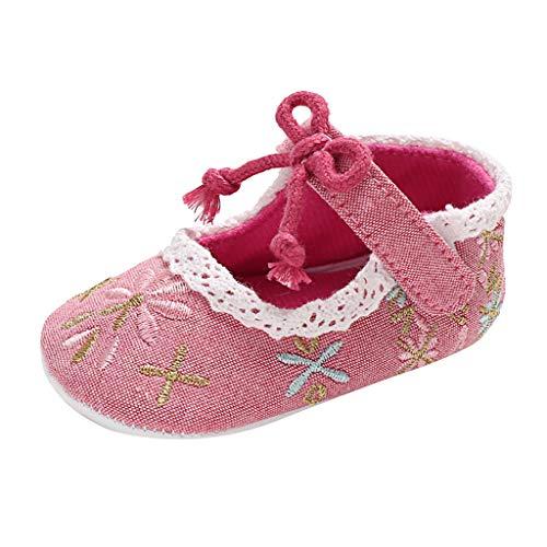 Ballett Kostüm Schuhe - H.eternal Babyschuhe Ballettschuhe Sandalen Baby Mädchen Prinzessin Cinderella Kostüm Schuhe Ballett Schuhe Tanzschuhe Prinzessin Leisure Prewalker Schuhe