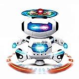 AMUSTER Moda Ballerino Elettronico Di Danza Smart Space Robot Astronauta Bambini Giocattoli Luci Musicali