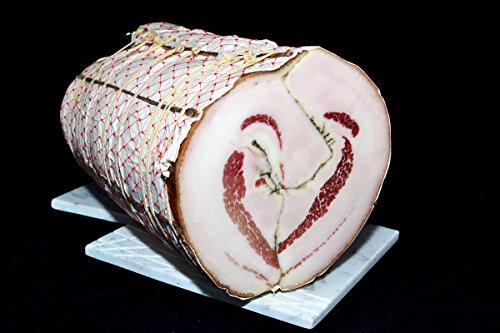 Cuor di Lardo (Lardo Arrotolato) 5 kg - Salumificio Artigianale Gombitelli - Toscana