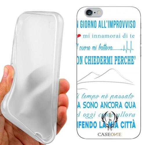 CUSTODIA COVER CASE CORO NAPOLI PER IPHONE 6 4.7 POLLICI