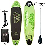Aqua Marina - Breeze Tavola da surf SUP gonfiabile con pagaia, modello 2016, - Board+Paddle+Leash