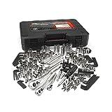 Craftsman 230-piece Stahl Legierung Silber Finish Standard und metrisches Mechaniker-Werkzeug Set–50230–Made