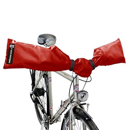 Schutzhülle für E-Bike Lenker, Fahrrad Lenker von NC-17 Connect / Handlebar Cover 2.0 / Lenkerschutz, Lenkerhaube, Transportschutzhaube für Fahrrad-, Ebike Lenker / wasserdicht / One Size / Nylon Test