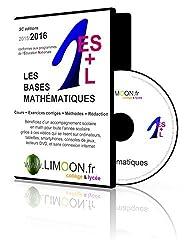 Les bases mathématiques en 1e ES L : Soutien scolaire en vidéos - Maths 1e ES et L by Stéphane Chaunard (2015-07-15)