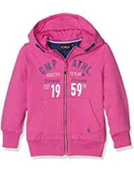 CMP Chica Sudadera Fitness Chaqueta con capucha, niña, Fitness Jacke mit Kapuze Sweat, rosa, 98