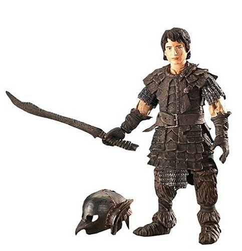 Click for larger image of The Lord of the Rings Return Of The King Frodo in orc disguise action figure