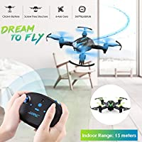 mini jjrc h48 drone axis 2.4g rc micro quadcopters A Key Rolling remote control for kids super cool helicopter Charging Mini Aircraft infrared 4ch 6-axis