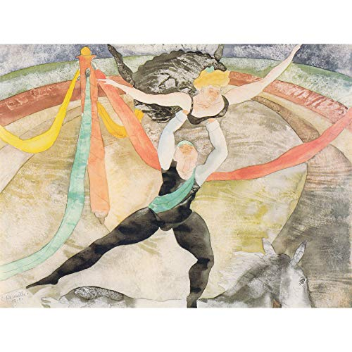 Demuth Circus Acrobats Painting Large Print Poster Wall Art Decor Picture Zirkus Malerei Wand Deko Bild -