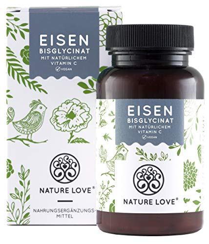 NATURE LOVE® Eisen - 40mg Eisen ...