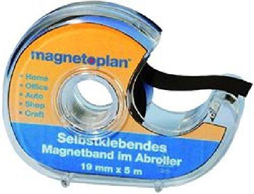 praktischer Abroller mit 5 Meter Magnetband , einseitig selbst-