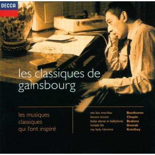 Les classiques de Gainsbourg : les musiques classiques qui l'ont inspiré